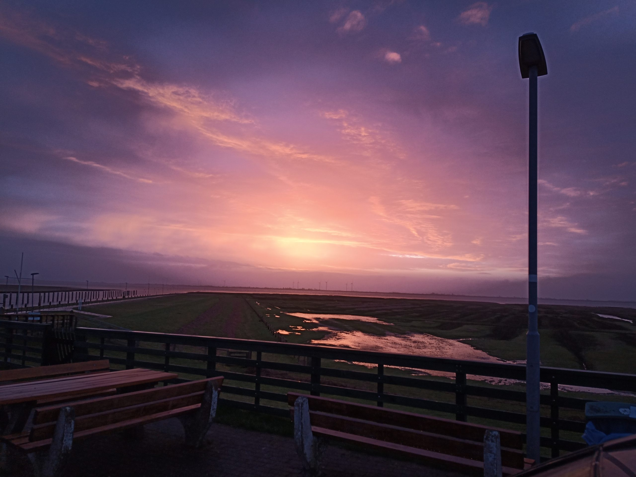 Landschaft am Meer Nordstrand