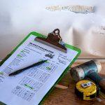 checkliste maßband hammer baumkontrolle